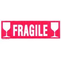 etiquette fragile