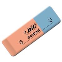 gomme encre crayon contrast