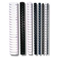 RELIURES PLASTIQUE - DIAMETRE : 22 à 51 mm
