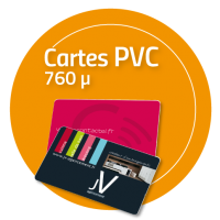 Cartes rigides PVC