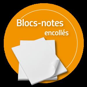 Blocs-notes Encollés