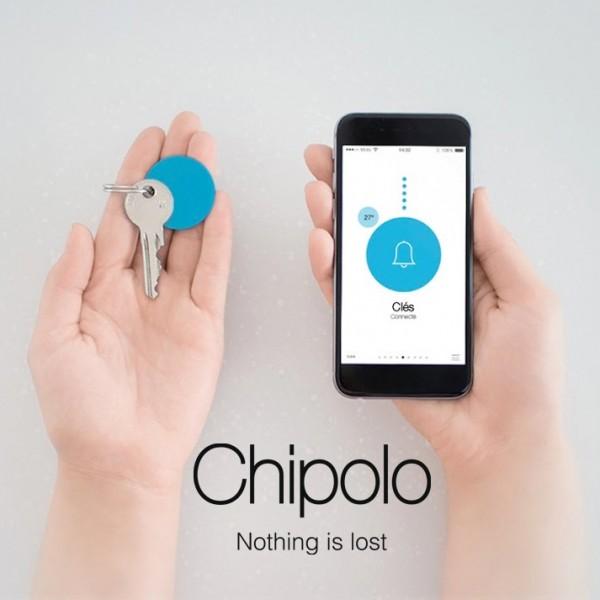 Porteclés Localisable Et Connecté Chipolo Personalisé Dès Ex - Porte clé connecté