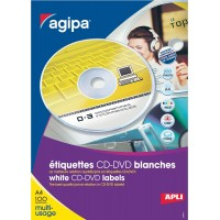 ETIQUETTES CD-DVD