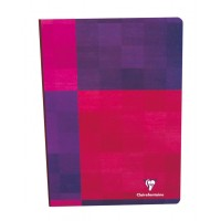 cahier broche dos toile clairefontaine