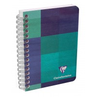 carnet reliure couverture pellicules clairefontaine