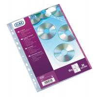 pochettes perforees cd dvd