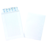 500 pochettes C5 blanches auto adhesives 90g