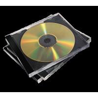 PACK 10 BOITIERS CD ou DVD NOIRS