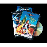 PACK 5 BOITIERS DVD NOIRS