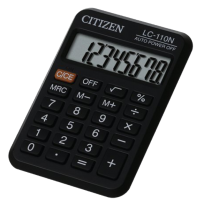 CALCULATRICE CITIZEN LC 110 N