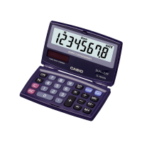 CALCULATRICE CASIO DUAL LEAF SL-100 VER