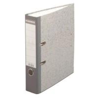 Classeur à levier gris cartonne a4